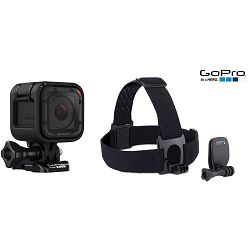 Hero Session4+ GoPro Head Strap + QuickClip, akcijski kombo