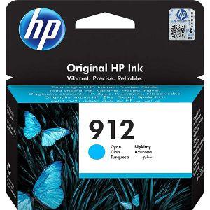 Tinta HP 3YL77AE cyan, No.912