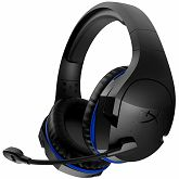 Slušalice Kingston HyperX Wireless Gaming, Cloud Stinger, black/blue, 17hrs battery life, up to 12m (2.4GHz), 1m USB charge, PC&PS4 ideally compatible, noise-cancellation microphone, PnP