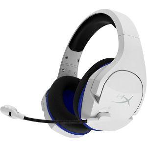 Slušalice Kingston HyperX Cloud Stinger Core Wireless, bežične, gaming, mikrofon, over-ear, bijele, PlayStation 4/5