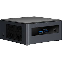 Intel NUC 8 Pro Kit NUC8i3PNH, Intel Core i3 8145U up to 3.9GHz, 2xDDR4 SDRAM slots, 1 x M.2 2280 PCIe slot, Wi-Fi 5 (802.11ac), Bluetooth 5, Intel UHD Graphics