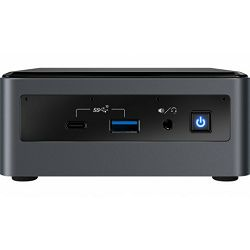 Intel NUC Kit, NUC10i5FNH, Intel Core i5 10210U up to 4.2GHz, 2xDDR4 SDRAM slots, PCIe NVMe 3.0 x4 (M.2), IEEE 802.11ax Wi-Fi 6, Bluetooth 5.1, Intel UHD Graphics