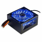 Napajanje INTER-TECH Argus RGB 600W, 80PLUS Bronze, 140mm fan with 21 ultra bright LEDs,Switchable illumination, Acrylic glass side panel, active PFC, 2xPCI-e, OPP/OVP/SCP protection
