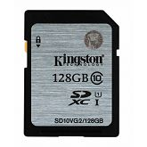 Memorijska kartica Kingston SDHC UHS-I Class 10 Flash Card, 128GB, SDC10G2/128GB