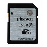 Memorijska kartica Kingston SDHC UHS-I Class 10 Flash Card, 16GB, SDC10G2/16GB