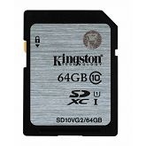 Memorijska kartica Kingston SDHC UHS-I Class 10 Flash Card, 64GB, SDC10G2/64GB