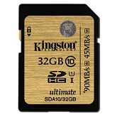 Memorijska kartica Kingston SDA10 U1, R90MB/W45MB, 32GB