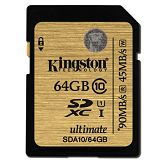 Memorijska kartica Kingston SDA10 U1, R90MB/W45MB, 64GB