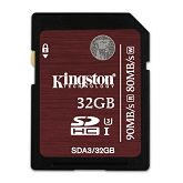 Memorijska kartica Kingston SDXC, UHS-I, U3, R90/W80, 32GB