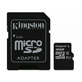 Memorijska kartica Kingston microSDHC, Class10, 16GB