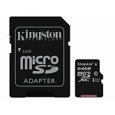 Memorijska kartica Kingston microSDHC, Class10, 64GB