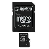 Memorijska kartica Kingston microSDHC, Class4, 4GB