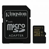 Memorijska kartica Kingston microSDHC, Class10, U1, 16GB