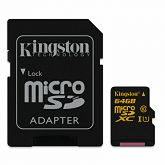 Memorijska kartica Kingston microSDXC, Class10, U1, 64GB, SDCA10/64GB