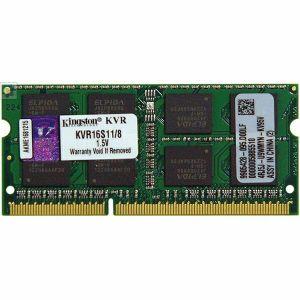 Memorija za prijenosna računala Kingston DDR3 SODIMM,1600MHz, 8GB