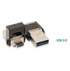 USB memorija Kingston DT microDUO 3, 64GB, OTG, USB3.0/microUSB