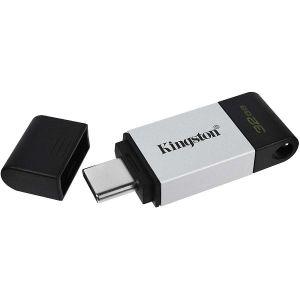 USB stick Kingston FD DT80, USB-C 3.2 Gen 1, 32GB, Silver
