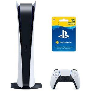 Konzola PlayStation 5 Digital Edition B chassis + PS Plus 365 dana