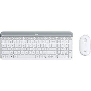 Tipkovnica + miš Logitech MK470, bežični, bijeli - BEST BUY