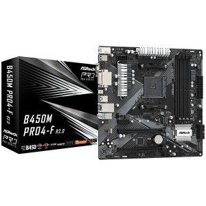 Matična ploča ASRock B450M Pro4-F R2.0, AMD AM4, Micro ATX