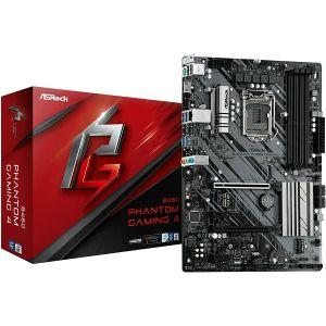 Matična ploča Asrock B460 PHANTOM GAMING 4, LGA 1200, 4xDDR4, 2 PCIe 3.0 x16, 2 PCIe 3.0 x1, AMD CrossFireX, 7.1 CH HD Audio, Nahimic Audio, 6 SATA3, 8 USB 3.2, 1 Ultra M.2, ATX - PROMO