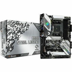 Matična ploča ASRock B550 STEEL LEGEND, AM4, 4xDDR4, AMD CrossFireX, 1xPCIe4.0x16, 1xPCIe3.0x16, 2xPCIe3.0x1, ALC1220, 2.5G LAN, 6xSATA3, 7xUSB 3.2 Gen1/2, 1xM.2, ATX
