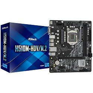 Matična ploča ASRock H510M-HDV/M.2, Intel LGA1200, Micro ATX