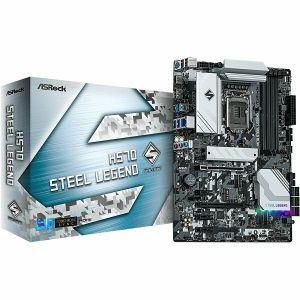 Matična ploča ASRock H570 Steel Legend, LGA1200, 4xDDR4, 2xPCIex16, 3xPCIex1, AMD CrossFireX, ALC897, 2.5Gb LAN, 6xSATA3, 6xUSB3.2 Gen1, 6xUSB2.0, USB-C, 4xM.2, ATX