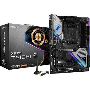 Matična ploča Asrock X570 TAICHI, AM4, 4xDDR4, 3 PCIe 4.0x16, 2 PCIe 4.0x1, AMD CrossFireX, ALC1220, Gigabit LAN, 8x SATA3, 3x USB 3.2 Gen2, 8x USB 3.2 Gen1, 1x Hyper M.2, ATX