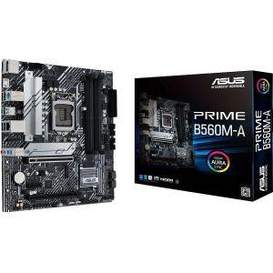Matična ploča Asus PRIME B560M-A, LGA1200, 4xDDR4, 2xPCIex16, 1xPCIex1, HD Audio, GbE LAN, 6xSATA3, 4xUSB3.2 Gen1/2, 4xUSB2.0, 1xUSB-C, 2xM.2, Micro ATX