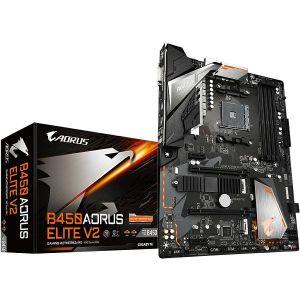 Matična ploča Gigabyte GA-B450 Aorus Elite V2, AM4, 4xDDR4, 2xPCIex16, 2xPCIex1, AMD CrossFire, Realtek Audio, GbE LAN, 6xSATA3, 6xUSB 3.1 Gen1, 8xUSB 2.0, 2xM.2, ATX