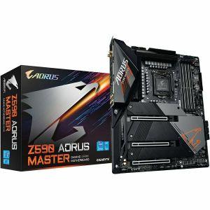 Matična ploča Gigabyte Z590 Aorus Master, LGA1200, 4xDDR4, 3xPCIex16, AMD CrossFire, ALC1220-VB, 10GbE LAN, WiFi 6E, BT5.2, 6xSATA3, 13xUSB3.2 Gen1/2, 4xUSB2.0, USB-C, 3xM.2, ATX