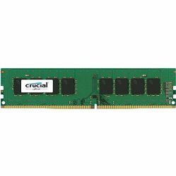 Memorija Crucial DRAM 8GB DDR4 2400 MT/s (PC4-19200) CL17 SR x8 Unbuffered DIMM 288pin Single Ranked, EAN: 649528776389