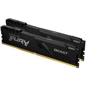 Memorija Kingston Fury Beast, 16GB (2x8GB), DDR4 3200MHz, CL16 - MAXI PONUDA