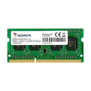 Memorija za prijenosna računala Adata SO-DIMM, 8GB, DDR3L 1600MHz, CL11