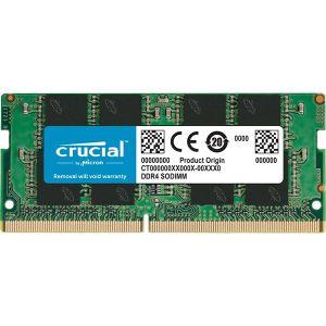 Memorija za prijenosna računala Crucial SODIMM DDR4 16GB PC4-21300 2666MT/s CL19 DR x8 1.2V