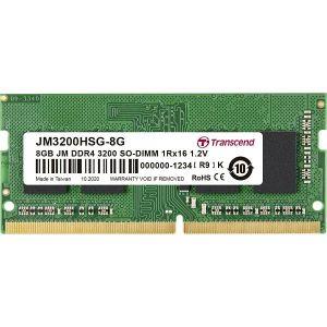 Memorija za prijenosna računala Transcend JetStream SO-DIMM, 8GB, DDR4 3200MHz, CL22