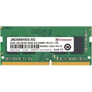 Memorija za prijenosna računala TRANSCEND SOD DDR4 8GB 2666MHz JetRam TS