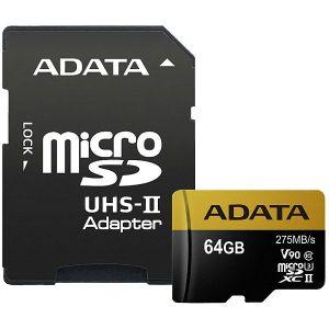 Memorijska kartica Adata Premier, microSDHC, 64GB, HC Class 10 + SD Adapter