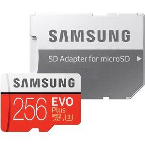 Memorijska kartica Samsung EVO Plus 256GB microSD + adapter
