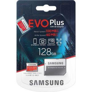 Memorijska kartica Samsung microSD 128GB EVO Plus UHS-I 100 MB/s Class3 + SD Adapter