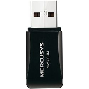 Mercusys MW300UM bežični USB mini adapter 300Mbps (2.4GHz), 802.11n/g/b, WPS tipka