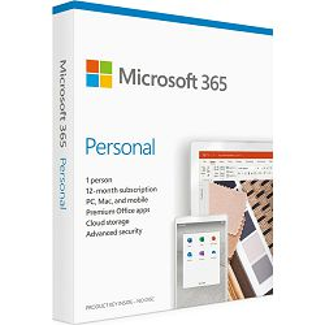 Microsoft 365 Personal Croatian, 1 godišnja pretplata, QQ2-00985