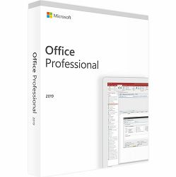 Microsoft Office 2019 Professional All Lng EuroZone elektronska licenca Word, Excel, PowerPoint, OneNote, Outlook, Publisher, Access, 269-17068