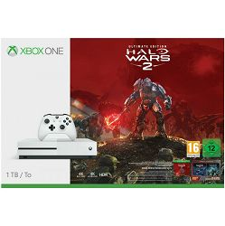 Microsoft Xbox One S Console 1TB Halo Wars 2: Ultimate Edition Bundle