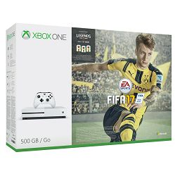 Microsoft Xbox One S Console 500GB FIFA 17 Bundle