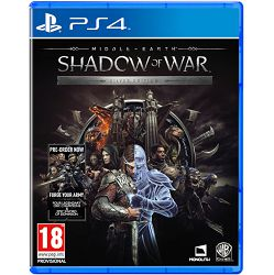 Middle Earth: Shadow of War Silver Edition PS4