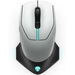 Miš Alienware Wired / Wireless Gaming - AW610M (Lunar Light) - MAXI PONUDA