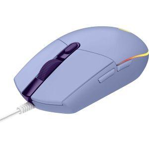 Miš Logitech G102 Lightsnyc, žičani, gaming, 8000DPI, RGB, lila
