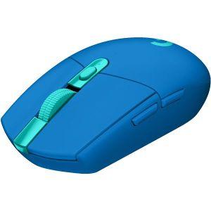 Miš Logitech G305 Lightspeed, bežični, gaming, 12000DPI, HERO senzor, plavi - MAXI PONUDA